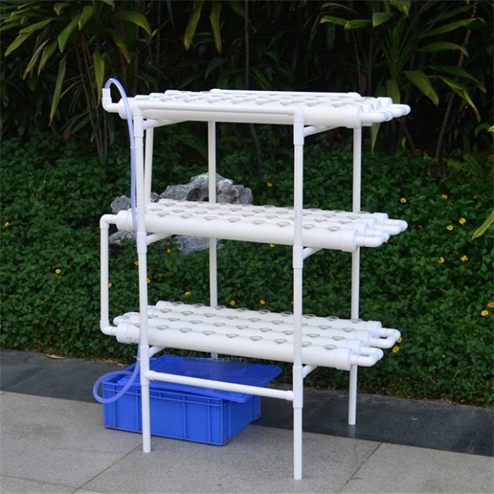 Tubo de PVC Indoor Grow Kit NFT Hydroponic System