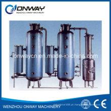 Elevado preço de fábrica eficiente Evaporador de vácuo de aço inoxidável Unidade evaporador térmico
