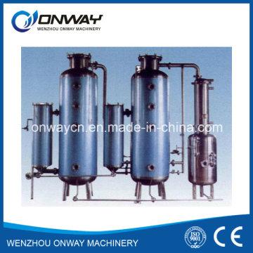 Cristalino de evaporación por lotes de vacío industrial de acero inoxidable Evaporador de circulación externa forzado
