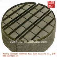 Wire mesh foam remove materials