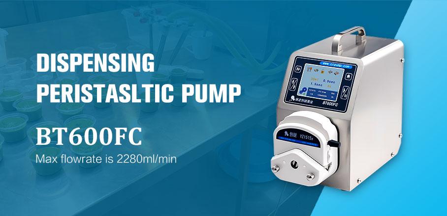 Foot Pedal Control Peristaltic Pump