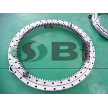 Four point contact ball slewing ring bearing SKF INA Equivalent bearing