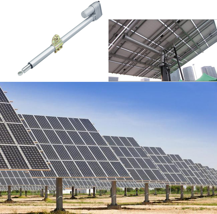 Solar Tracker Actuator application