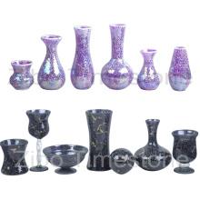 Floreros de cristal de mosaico de vidrio (TM1851)