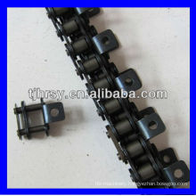 Roller chain with A1/one side attachments