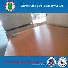 Gute Qualität Melamin Faced MDF Verwendung für Möbel