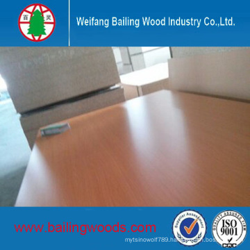 Good Quality Melamine Faced MDF Use for Furniture