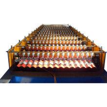 China Maquinaria de techo corrugado frío