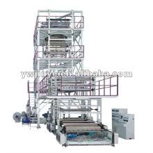 Coextrusión de tres a cinco capas máquina de película soplada