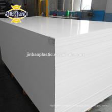 JINBAO Plastique recyclé feuilles pvc mousse armoire matériel