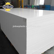 JINBAO White black waterproof foam board roofing sheets PVC sintra