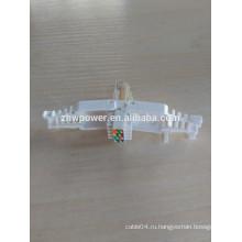 Cat7 rj45 модульная вилка 8P8C UTP / FTP Cat7 Разъем RJ45 для многожильного сетевого кабеля