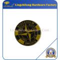 Insignia del esmalte del logotipo de la isla de piedra para la venta