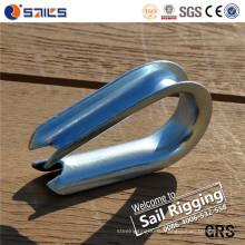 Углеродистая сталь Galvanied DIN6899A трос наперсток