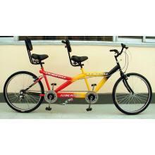 """Tandem Bicycle / Bi-Riding Bicycle / Bicycle / Bike / Bicycle Bike / 24 """"One-and-a-Third Bicycle (Tandem bicycle-001)"""