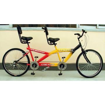 """Tandem Fahrrad / Bi-Riding Fahrrad / Fahrrad / Fahrrad / Fahrrad Fahrrad / 24 """"Ein-und-ein-Drittes Fahrrad (Tandem Fahrrad-001)"""