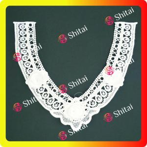chemical embroidery collar sales
