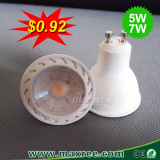Wholesale china factory china led spotlight gu10,7w led bulb
