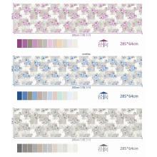 Tissu imprimé de pigments de luxe populaire