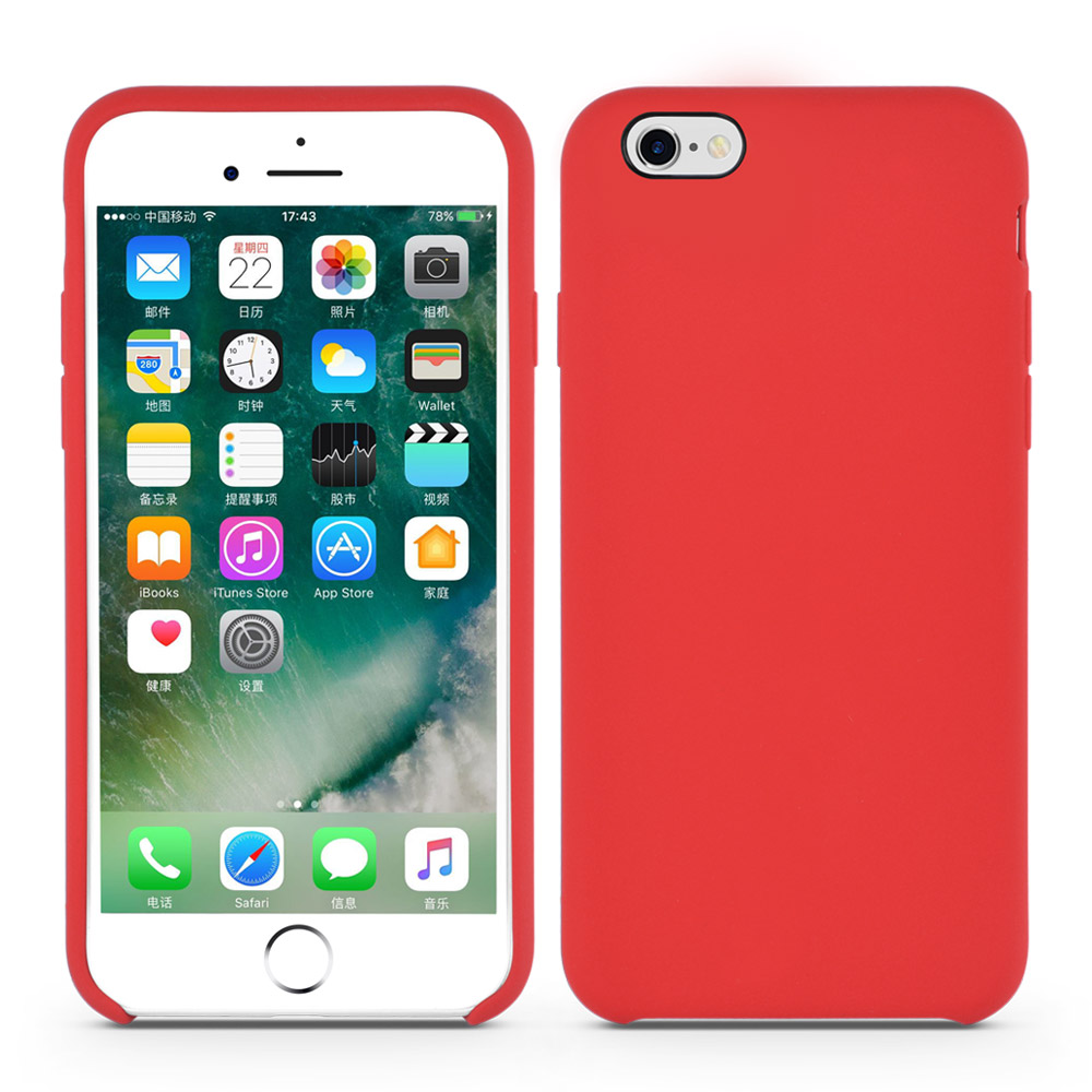 liquid silicone iphone cover