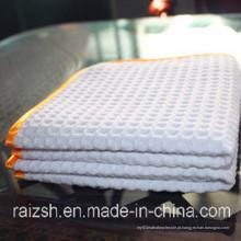 Grade de abacaxi de toalha de pano de limpeza de microfibra