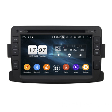 Android car dvd 9.0 สำหรับ Duster 2014-2016