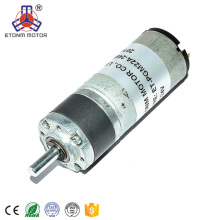 CE-Zulassung 22mm DC-Getriebemotor 12V 24V Planetengetriebe