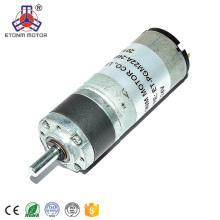 Engrenage planétaire 12mm 24v d'engrenage à courant continu de l'approbation 22mm de la CE