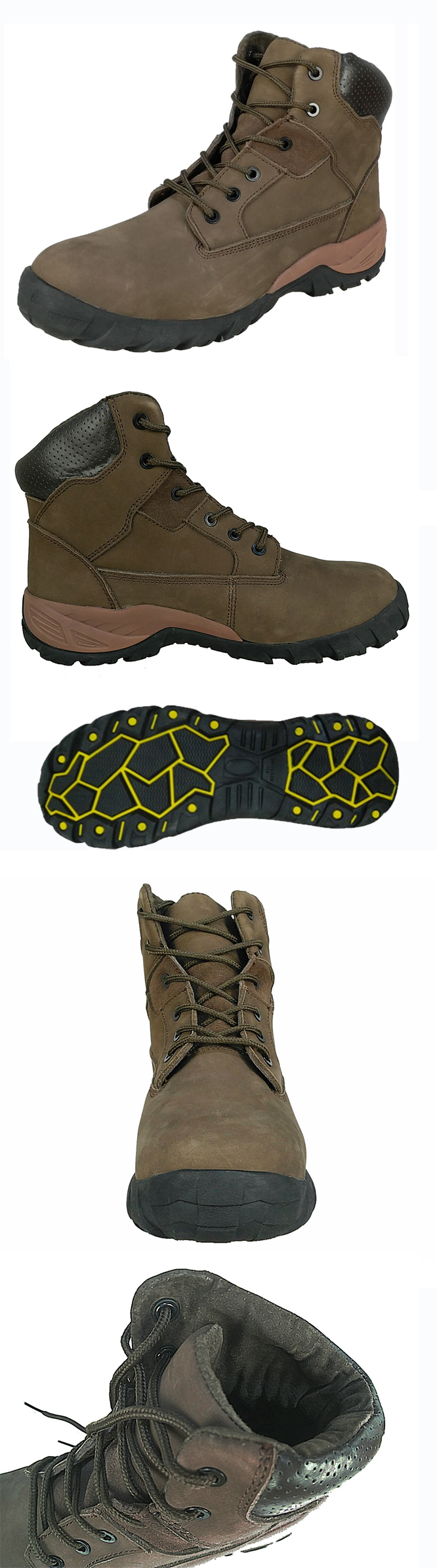 nubuck leather MD sole safety shoes SS8K271-X