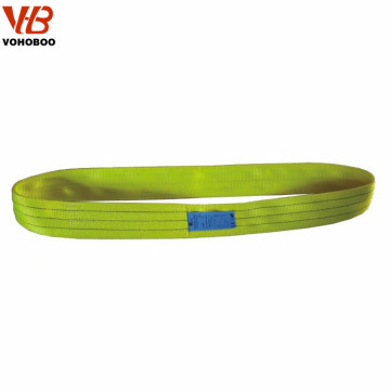 heavy duty 10T 20T 30T 40T 50T polyester crane lifting sling