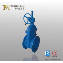 Bevel Gear Ductile Iron Gate Valve with CE Approved