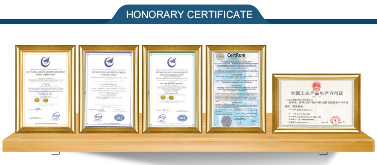 polyester woven geotextile certificate