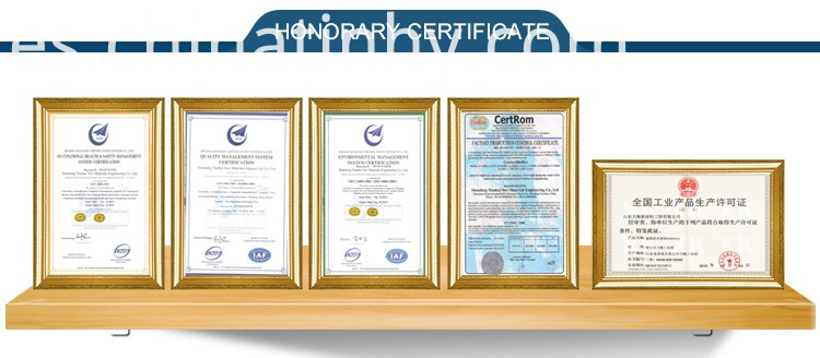 geosynthetic clay liner certificate
