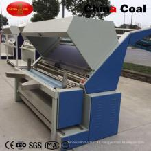 Machine à rouler de tissu de la Chine CNC de charbon
