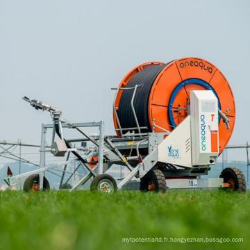 Pièces d'irrigation de l'enrouleur de tuyau d'arrosage de voyage