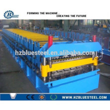 Double Layer IBR And Corrugated Steel Sheet Roll Making Machine