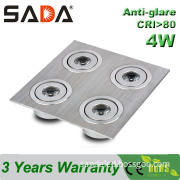 4W Recessed Citizen Using LED Ceiling Light Manufacturer