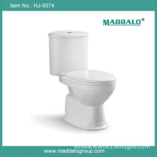 Simple Eurostyle Dual Flush Two Piece Bathroom Wc (HJ-5074)