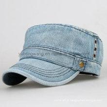 Forma tampão personalizado do exército do basebol, chapéu