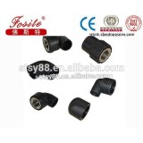 China New pe water pipe fittings, hdpe female threaded elbow