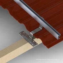 Système de support solaire de toit solaire de toit de toit de 30KW