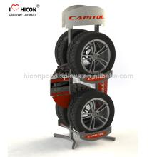 Car Auto Acessórios Display Racks disponíveis em várias configurações, incluindo mostradores de bancada ou de chão ou de parede