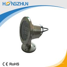 Hohe Helligkeit RGB führte Unterwasserlampe super Helligkeit 12v / 24v Lampe
