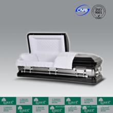 LUXES caixão de caixão de Metal de 18ga dos EUA