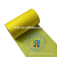 Compatible feature  TTO Yellow color transfer printing zebra printer thermal transfer ribbon