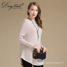 Women Long Knitted Pure Cashmere Sweater With Best Sales