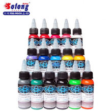 Solong tattoo 16 color ink micrblading tattoo pigment set