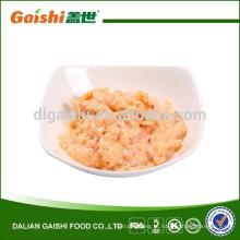 Frutos do mar Halal preparado sushi congelado temperado salada de lagosta