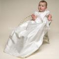 High Quality Western Baby Girls Christening Birthday Dress with Hat Baby Birthday Baptism Girl Dress