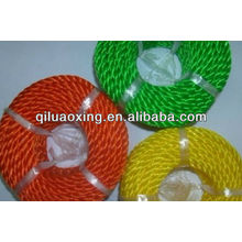 green/yellow/red silage twist rope for agriculture